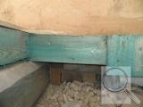 Podlaha, před vnitřním zateplením