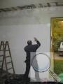 Stěna, vnitřní zateplení systémem redstone CLIMA PLUS, průběh prací (4)